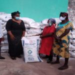 Akuapem North MP, Ama Dokua donates bags of flour to support women