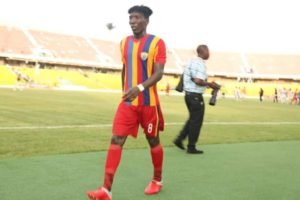 Benjamin Afutu suspended for Hearts clash with Inter Allies