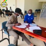 Players and Officials of Black Maidens, Princesses undergo COVID-19 test