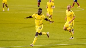 VIDEO: David Accam scores only goal as Nashville beat FC Dallas