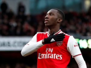 VIDEO: Eddie Nketiah scores for Arsenal in Carabao Cup win over AFC Wimbledon