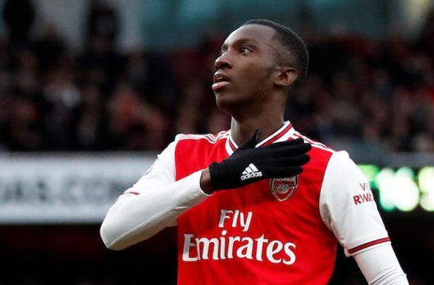 We hope Eddie Nketiah reaches the very top - Uncle