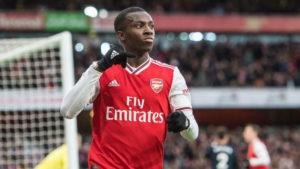 Mikel Arteta wants Eddie Nketiah to stay at Arsenal