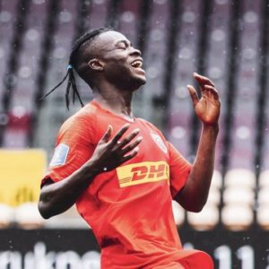 VIDEO: Kamal Deen Sulemana handed no.10 jersey at FC Nordsjaelland