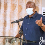 'You're always scared to chastise Akufo-Addo but quick to condemn NDC, be fair!' – Mahama to chiefs