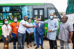 MASLOC donates 33-seater bus to NUGS through Education Ministry