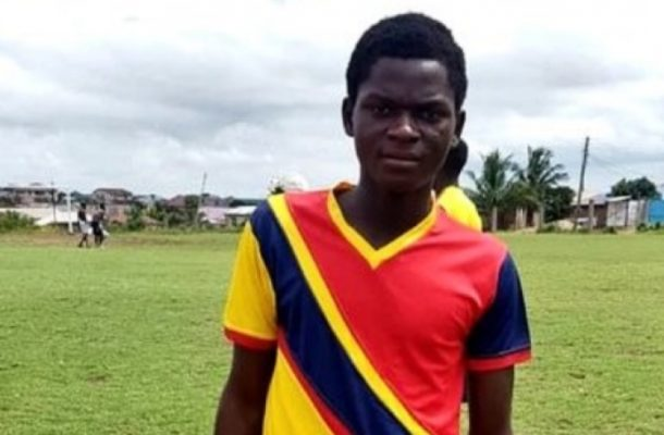 Hearts of Oak promote Franklin Owusu to first team