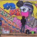 Street artists fight COVID-19 with art in Rwanda