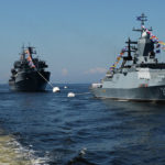 Russia's Pacific Fleet Enhances Security Measures Over Typhoon Haishen