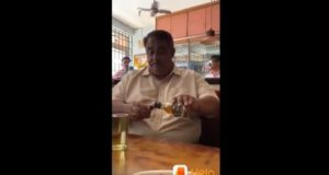 True Corona Warrior: Indian Man Uses Alcohol to Sanitise Hands in a Bar - Video