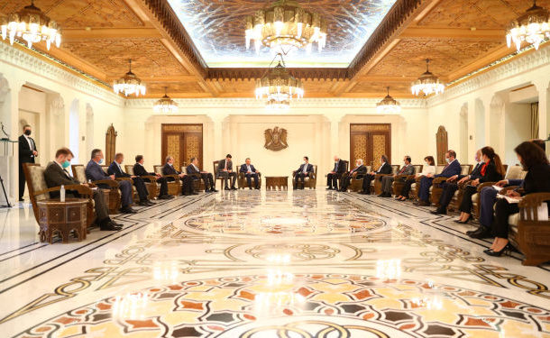 Russian and Syrian Foreign Ministers Hold a Joint Presser in Damascus - Video