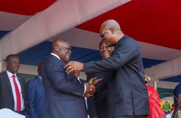 Margaret Jackson Writes:  When John Mahama coughs Sakawa Nana Akufo-Addo acts
