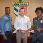 'I want to be part of the legends of this club'- Najeeb Yakubu tells Vorskla fans after signing new deal