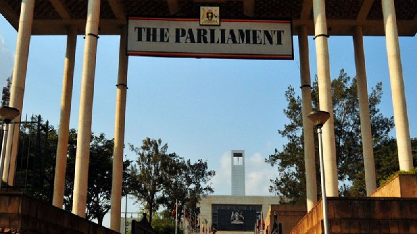 Ugandan carrying child's severed head arrested outside parliament