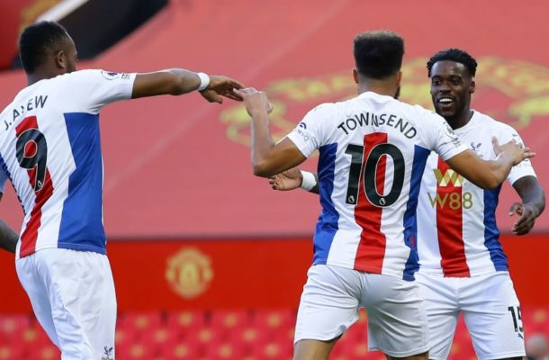 Milestone: Ghana's Schlupp marks 100th Crystal Palace appearance with an assist in Old Trafford triumph