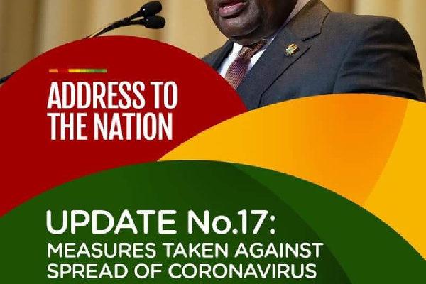 Prez Akufo-Addo to address Ghanaians on Coronavirus update tonight