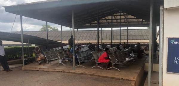 Patients urged to go home at Ho Municipal Hospital