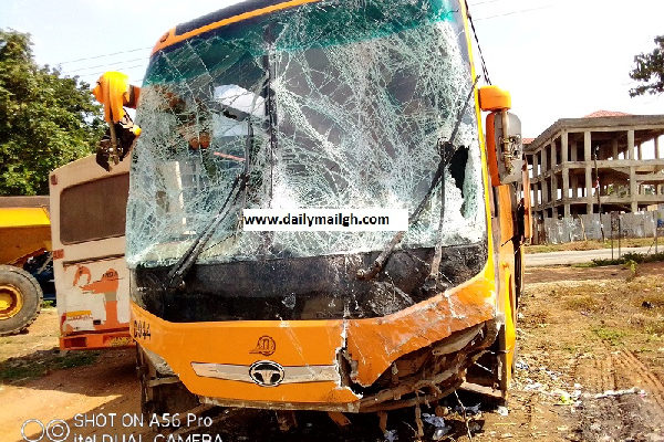 Presby pastor, two others in critical condition after highway crash at Odumase
