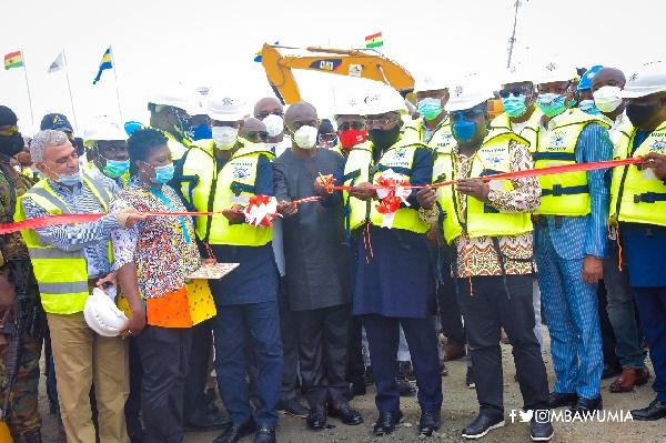 Dr. Bawumia opens US$56 million Liquid Bulk Terminal at Takoradi Port