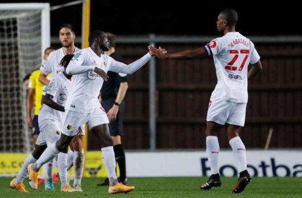 Defender Derek Agyakwa marks Watford debut in Carabao Cup win