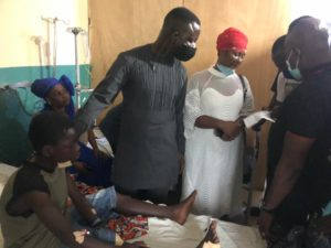 GFA officials visit families of injured Offinso accident victims