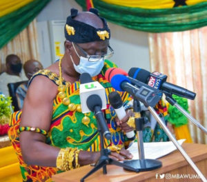 Thank you for giving us identity - Oti chiefs to Akufo-Addo