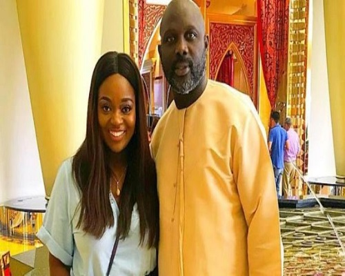 Jackie Appiah is reportedly pregnant for Liberia President, George Weah