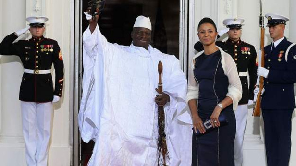 US sanctions ex-Gambian First Lady Zineb Jammeh