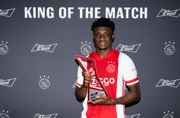Kudus marks full Ajax debut with King of the Match award