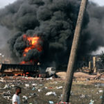 BBC Africa Eye uncovers new evidence that contradicts official explanation for Lagos explosion in March