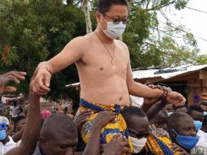 We have not enstooled any Chinese as Nkosuohene - Abetifi Chiefs