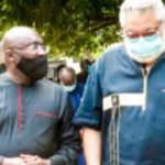 Bawumia leads govt delegation to mourn with Rawlings' family