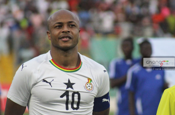 Ghana captain Andre Ayew named in IFFHS African XI of the decade
