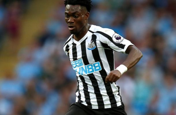 Unwanted Christian Atsu makes cameo appearance for Newcastle in Carabao Cup win
