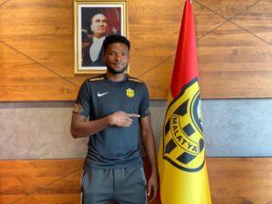 VIDEO: Yeni Malatyaspor unveil new boy Benjamin Tetteh