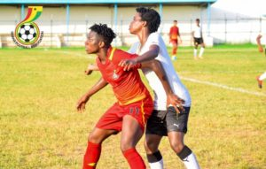 Black Princesses show SENIORITY to defeat maidens in friendly encounter