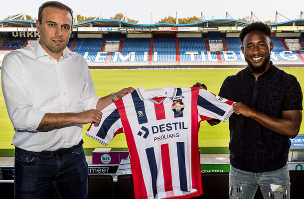 New Signing John Yeboah named in Willem II Europa League squad forProgrés Niederkorn trip
