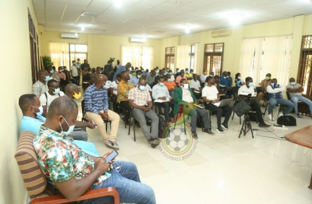 GFA holds DTMS training for clubs ahead of new season
