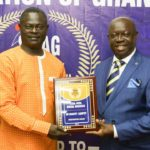 SWAG decorates former blazing soccer star Nii Odartey Lamptey