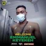 Kotoko signs Emmanuel Keyekeh from Karela United