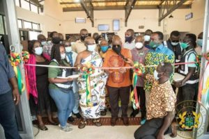 President Akuffo-Addo commissions 4th Medical Drone Distribution Centre in Sefwi Wiawso