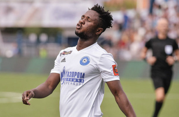 Joel Fameyeh scores for FC Orenburg in big win