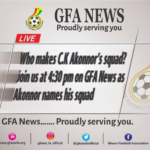 Watch Live: C.K Akonnor announces Black Stars squad for Mali friendly