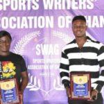 45th MTN SWAG Awards: Policewoman Grace Mintah and Derrick Kwakye adjudged best Armwrestling athletes