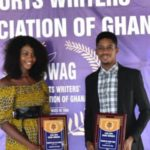 Henrietta Armah and Benson Arthur are SWAG Taekwondo Athletes of the Year