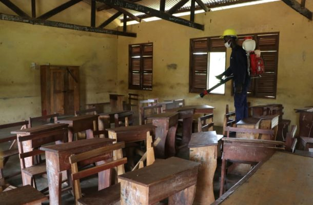 About 5,200 basic schools to be disinfected in Northern Region