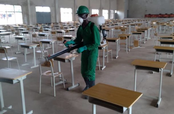 Third Phase… School Heads advocate for quarterly disinfection