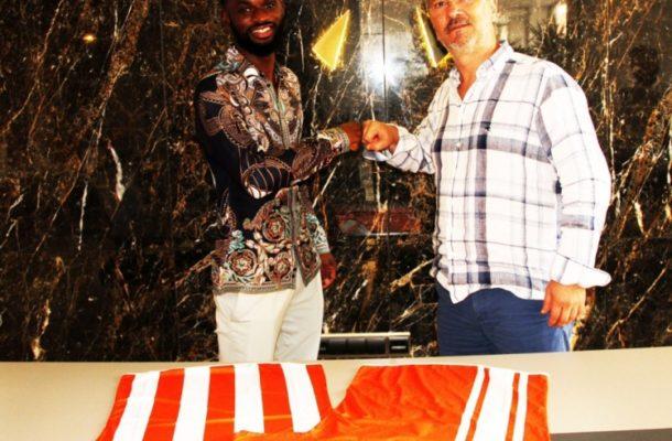 Ghanaian defender Isaac Donkor joins Turkish side Adanaspor