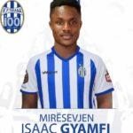Ghanaian youngster Isaac Gyamfi joins KF Tirana