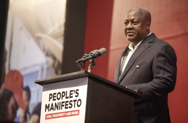 You're stealing my ideas after calling NDC manifesto empty - Mahama to NPP